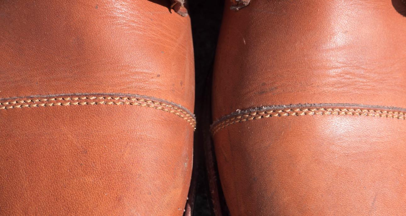 john doe 420 boots stitching asymmetry