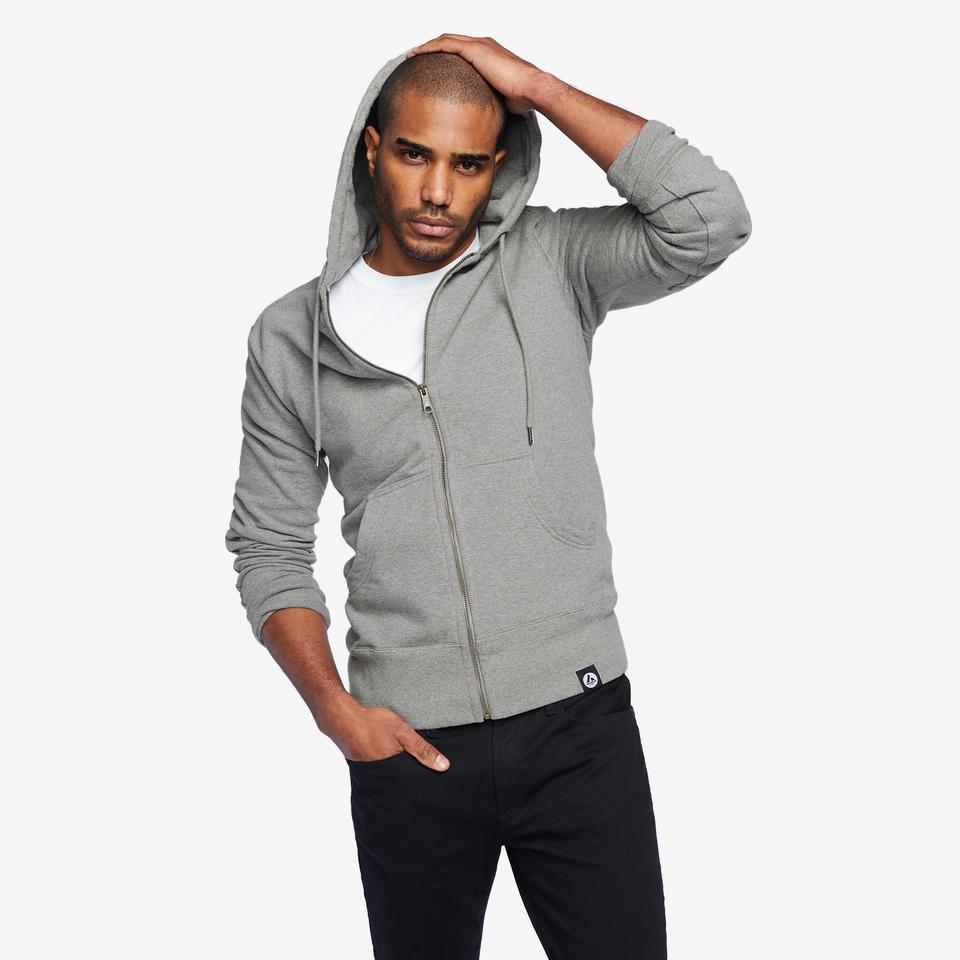 american giant hoodie model 2