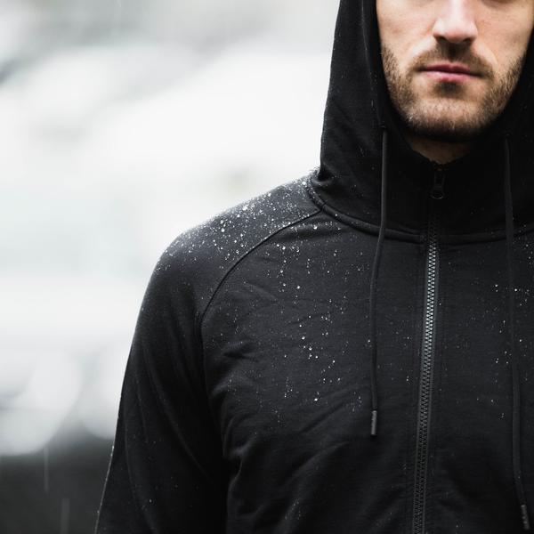 myles everyday hoodie rain