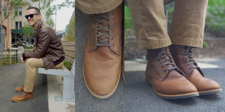 red wing merchant boot review