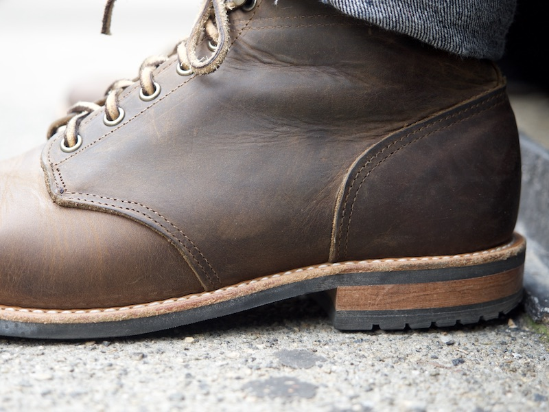 mark albert outrider boot leather