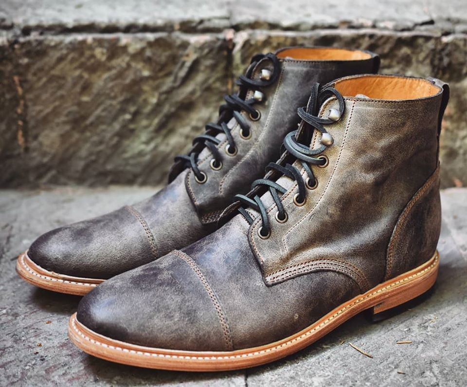 moose leather boots from john doe shoes
