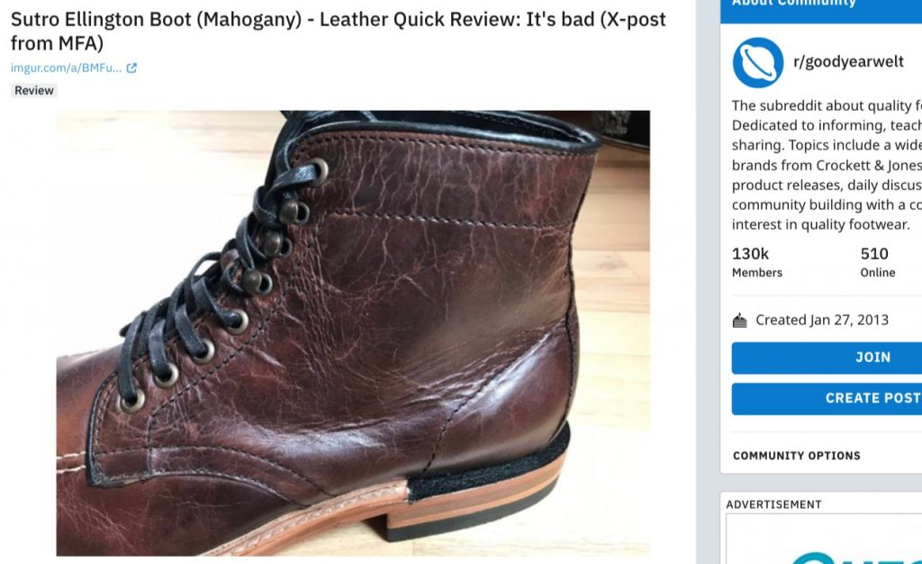 sutro charlton leather reddit