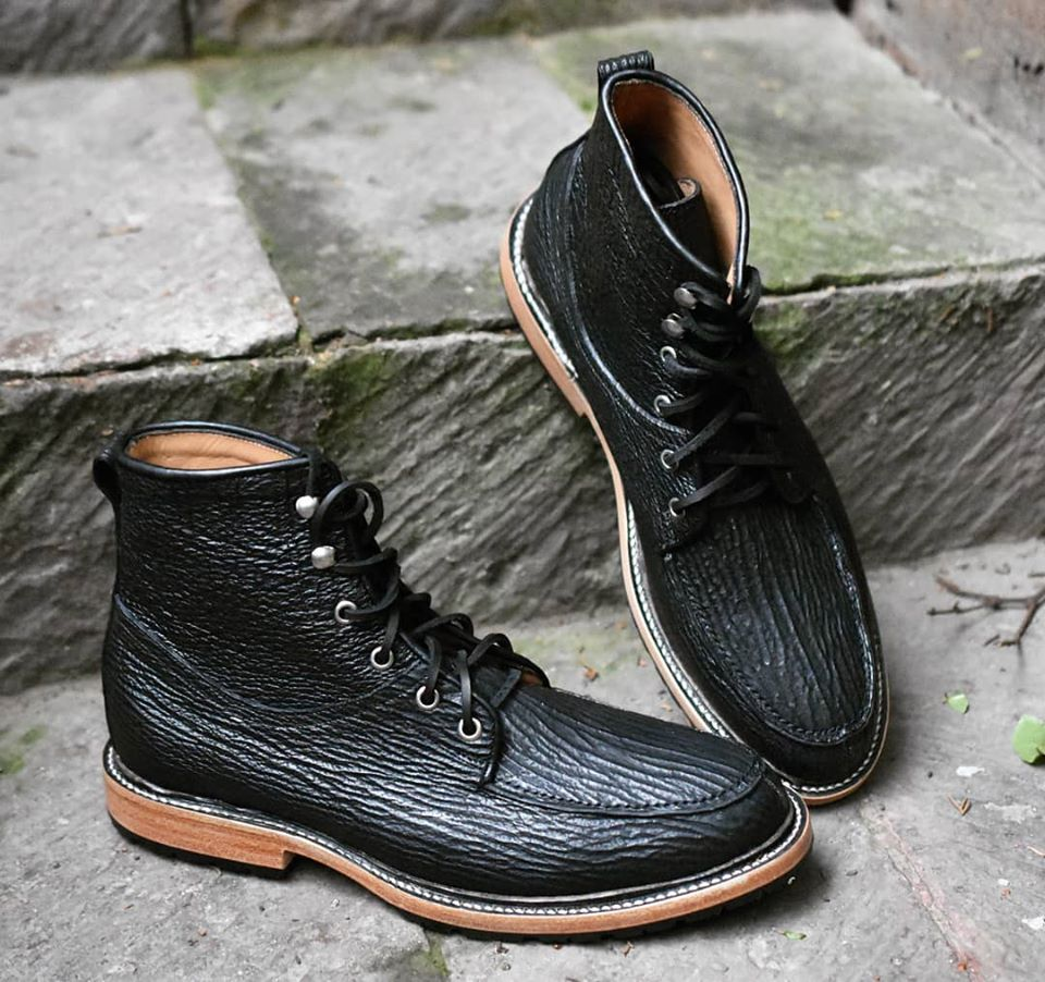 john doe shark leather boots