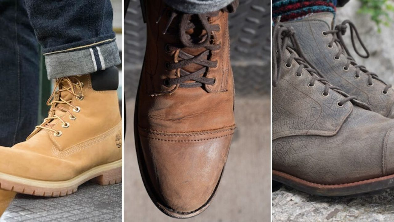 Leather vs Suede vs Nubuck - Which