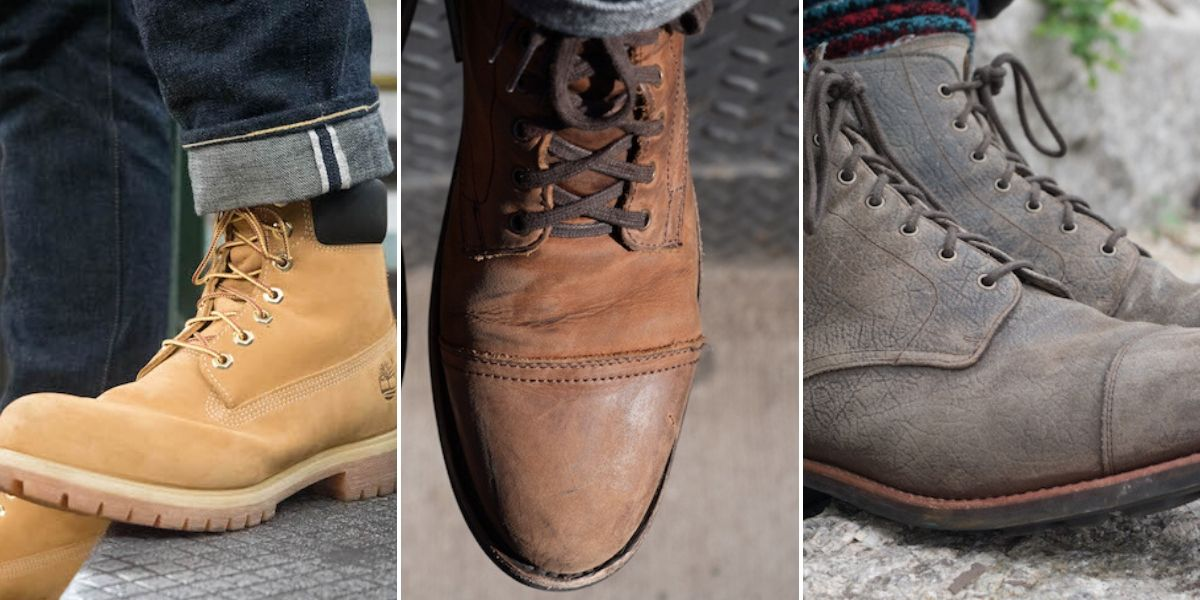 leather vs suede vs nubuck