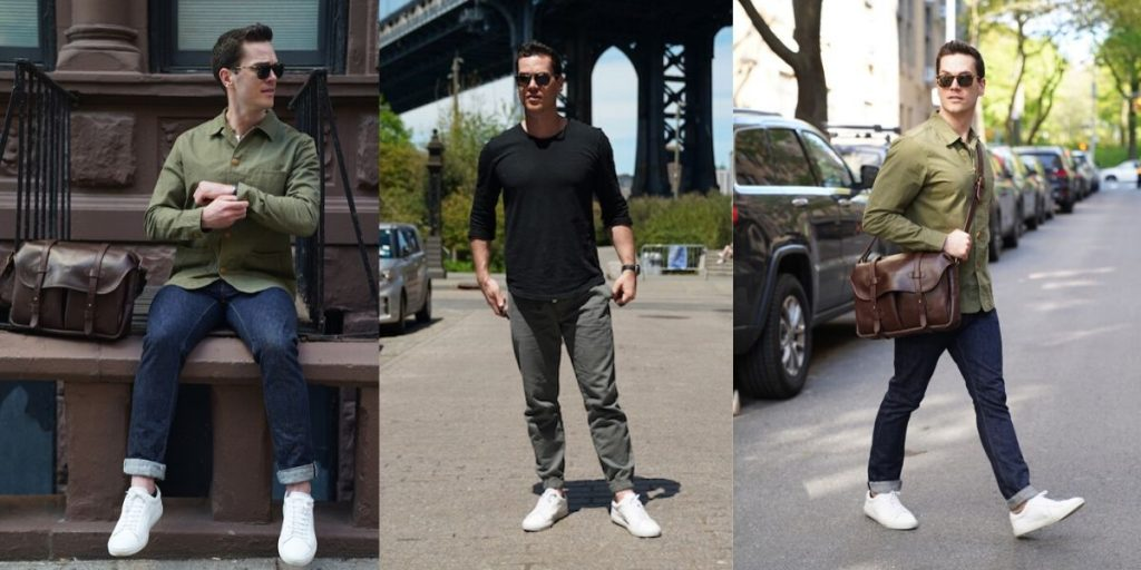styling oliver cabell sneaker