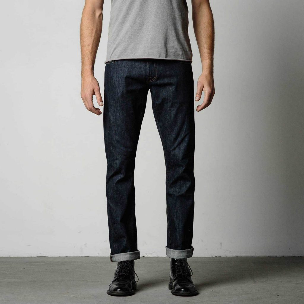 dstld straight-summerweight-raw-denim-jeans-in-indigo-timber-product