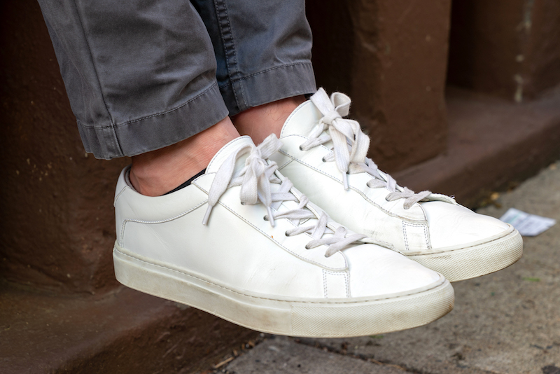 koio capri triple white side view