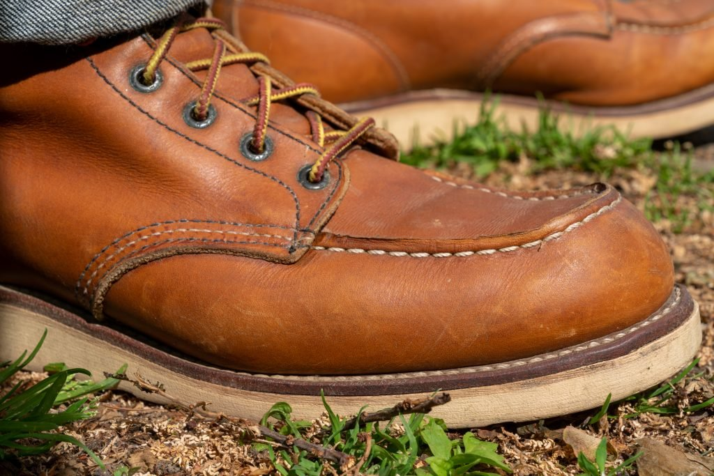 red wing 875 moc toe profile