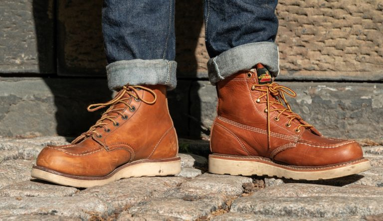 red wing vs thorogood moc toe featured
