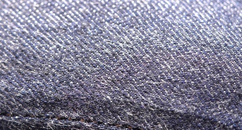 full count denim closeup