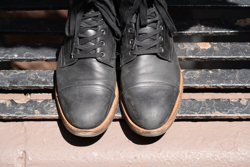 oliver cabell sb1 boot overhead