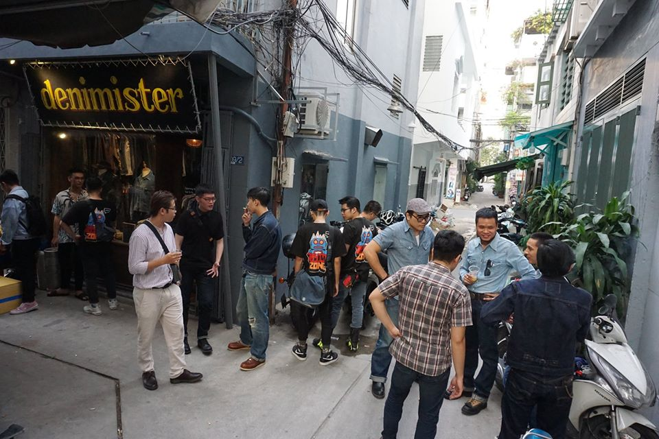 vietnamese raw denim meetup at denimister