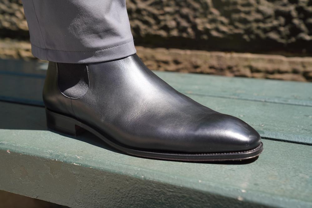 carmina chelsea right foot