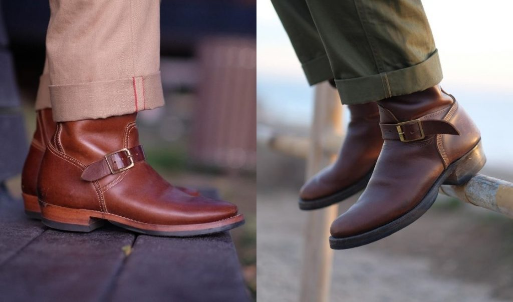 clinch and role club engineer boots