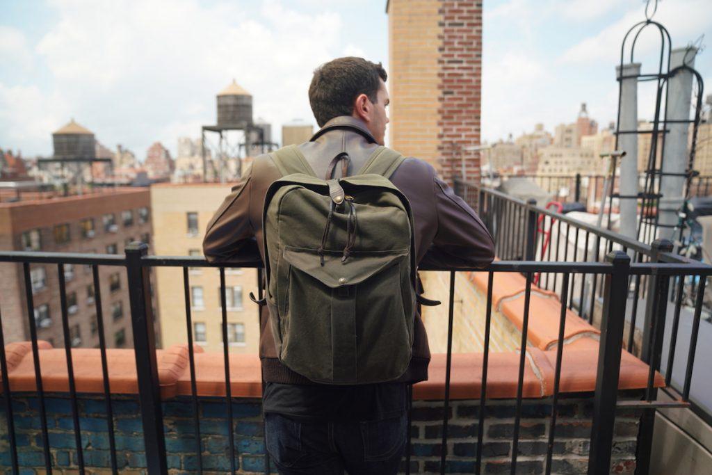 filson journeyman backpack brown jacket