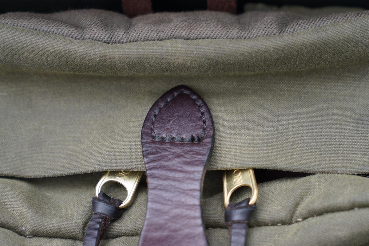 filson journeyman backpack storm flap