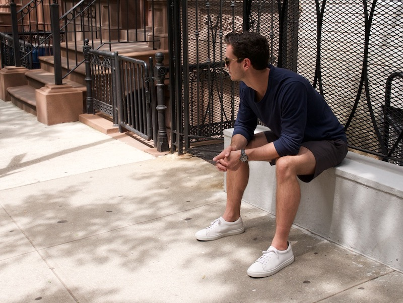 idrese nuno sneaker in shorts