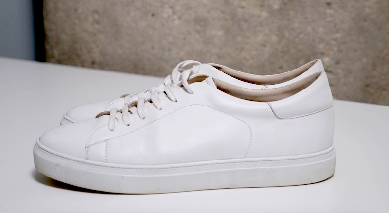 idrese nuno sneaker on table