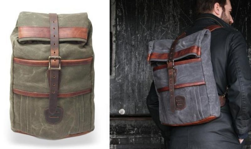 lm leather goods keystone rucksack