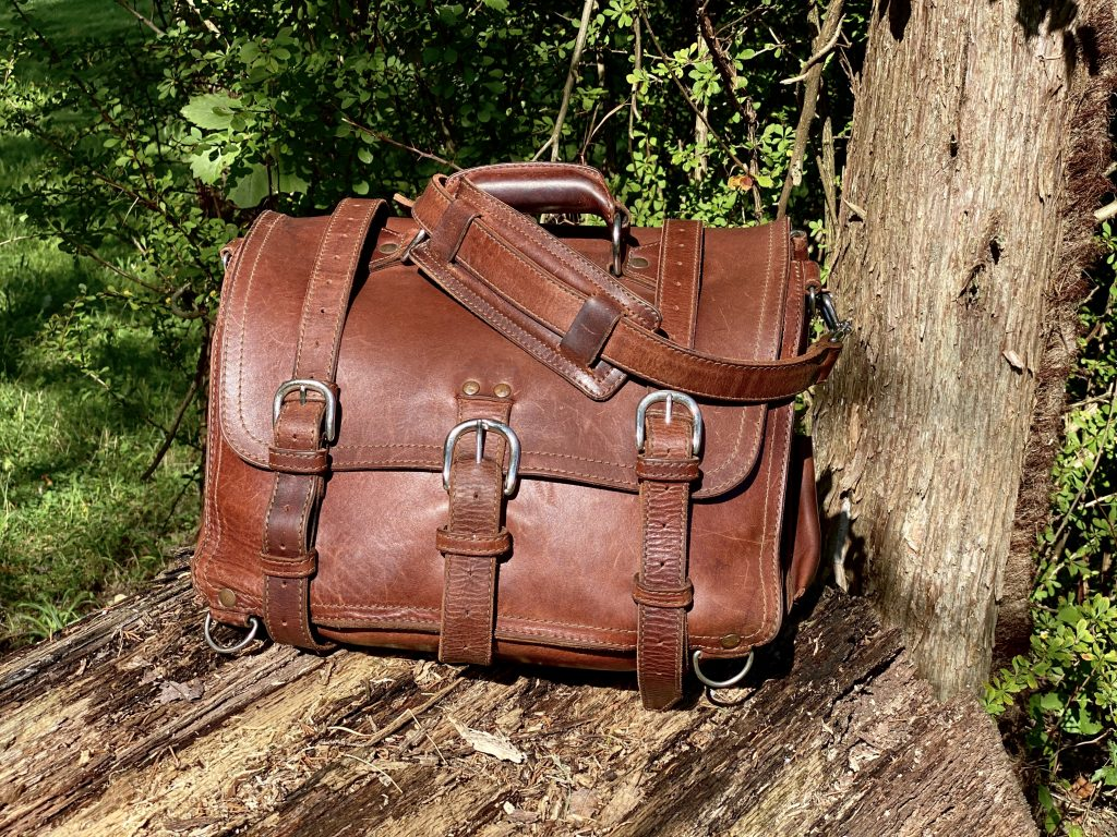 old saddleback bag