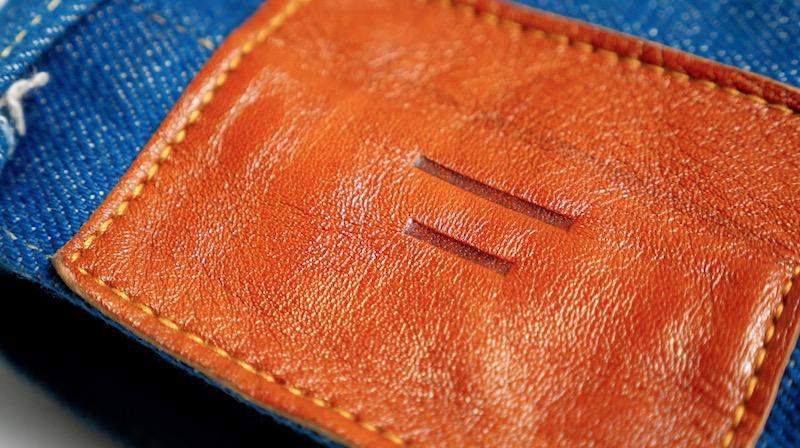 tanuki jeans waistpatch