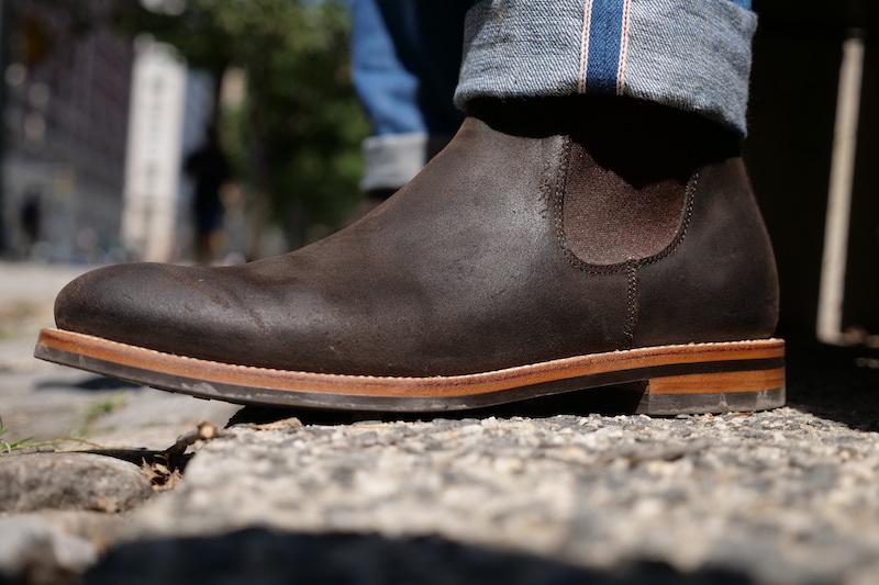 grant stone chelsea boot