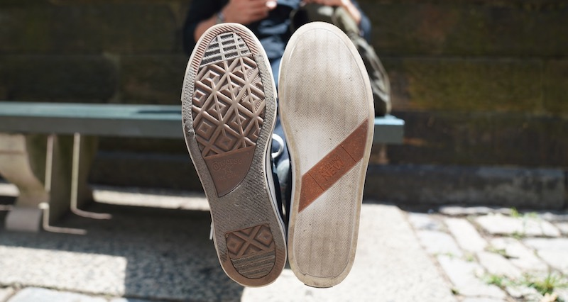 nothing new vs converse soles