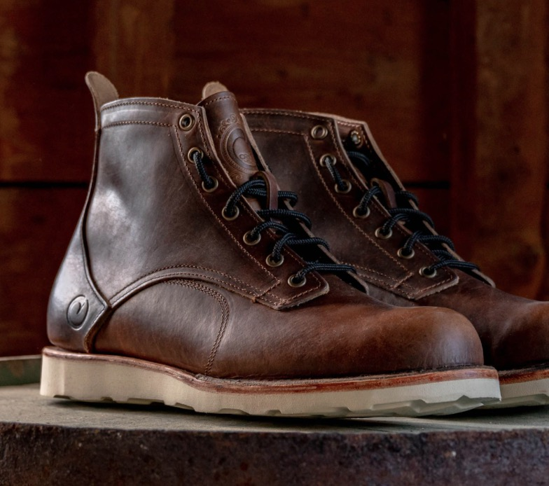 Bison boots from Origin Maine