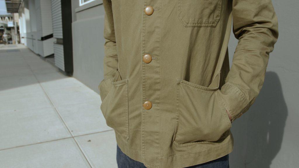 Taylor Stitch Ojai Jacket pockets