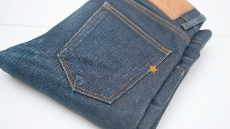 Brave Star selvedge jeans star