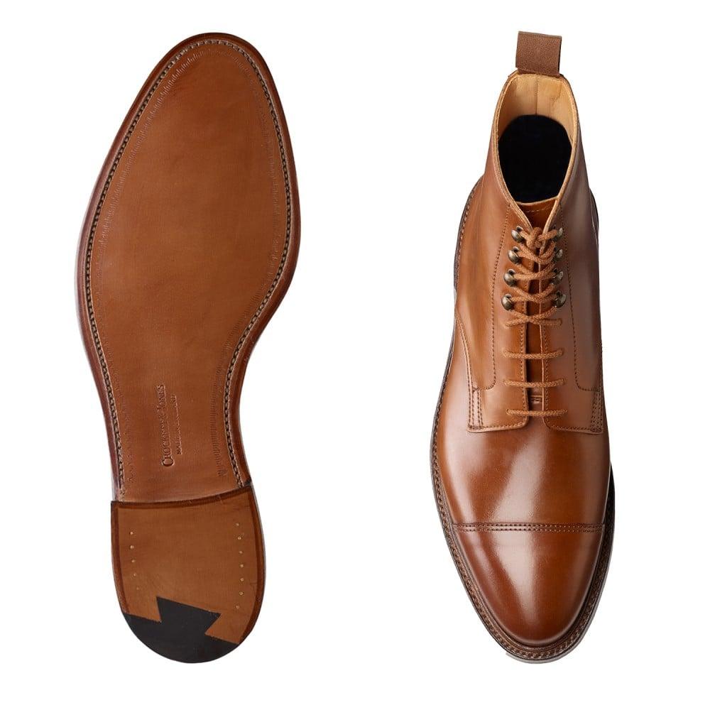 Crockett & Jones' Harlech Captoe Boot