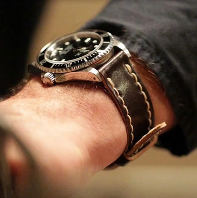 DaLuca's Cordovan watch strap