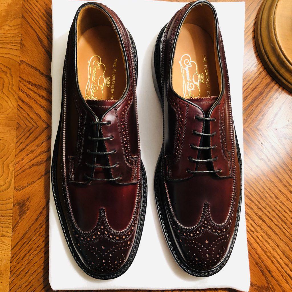 Florsheim's 93605 shoe in Shell Cordovan.jpg