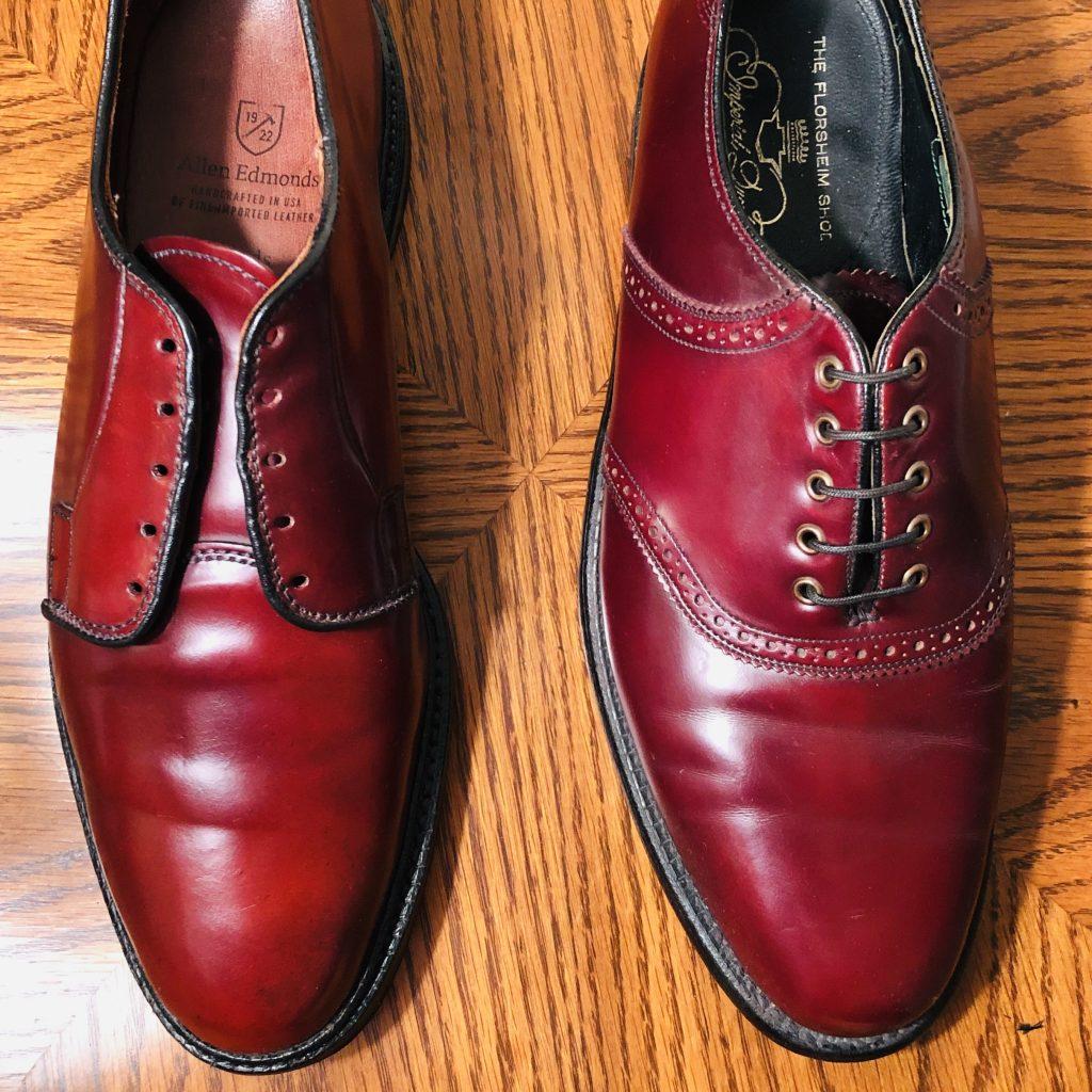 Shell Cordovan vs Regular Leather