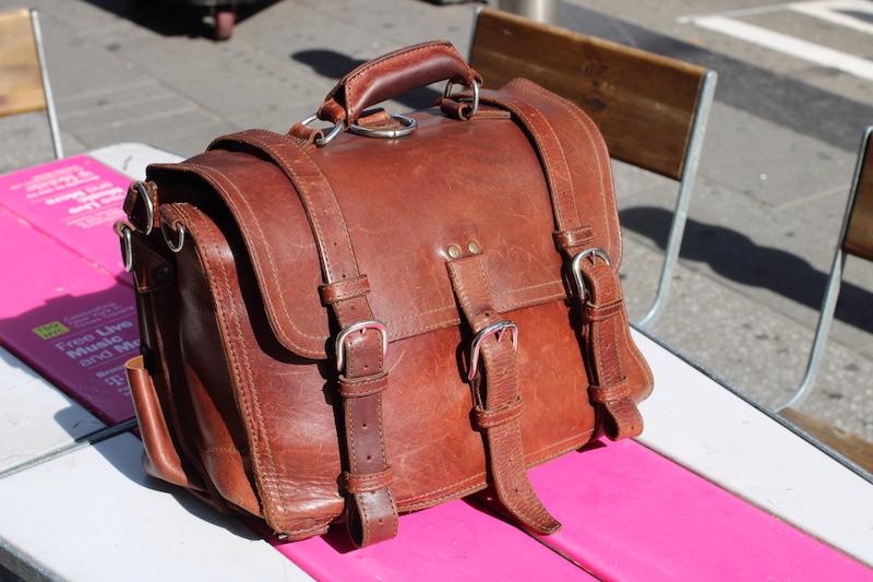 old saddleback bag