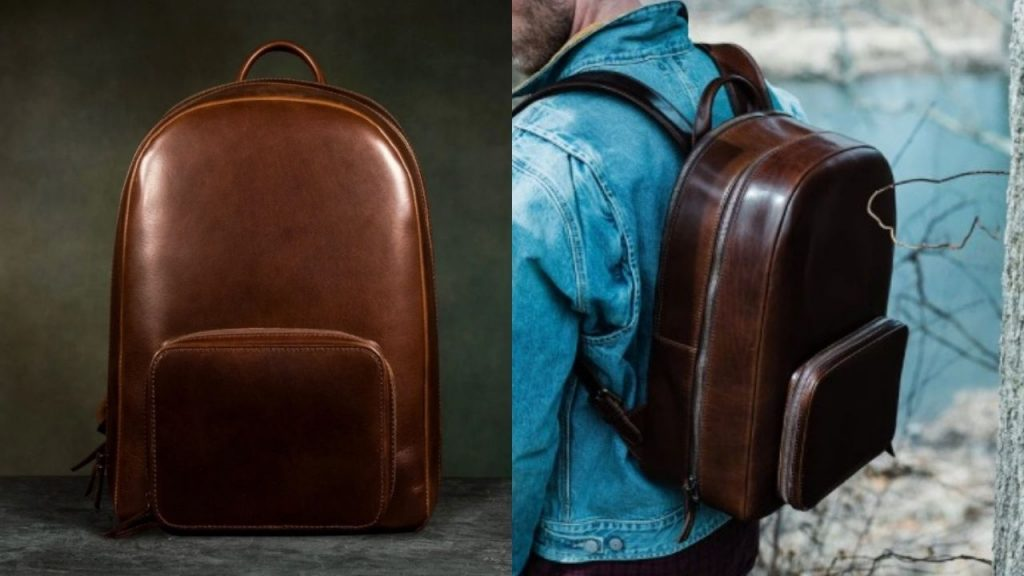 satchel and page backpack
