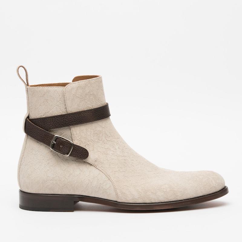 taft white dylan jodhpur boot