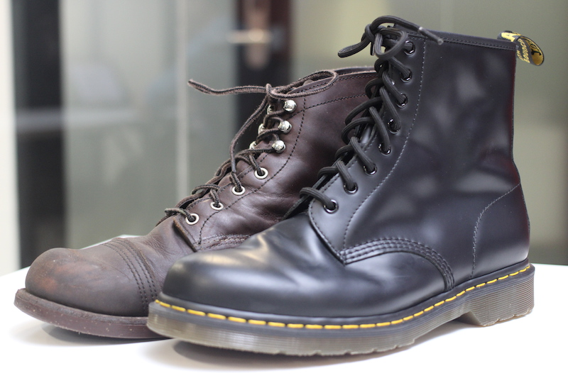 doc martens and red wing iron ranger