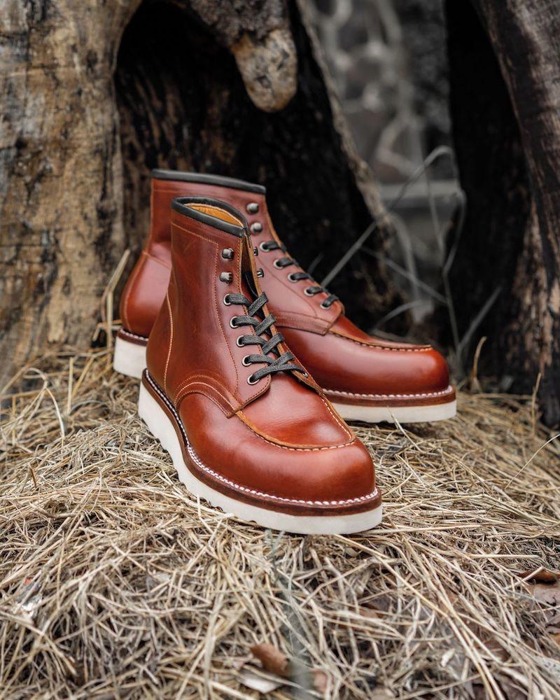 junkard moc toe boots