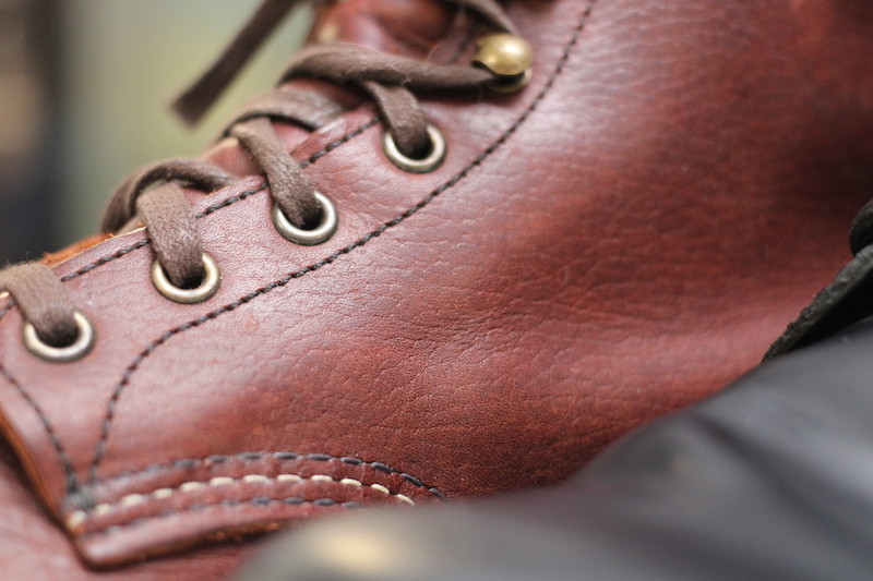 red wing blacksmith leather