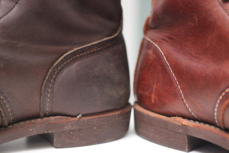red wing iron ranger vs blacksmith heel