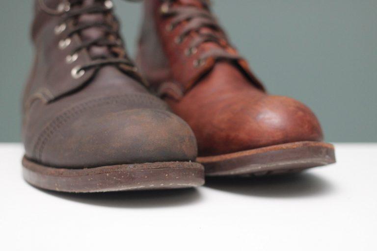 red wing iron ranger vs blacksmith toebox