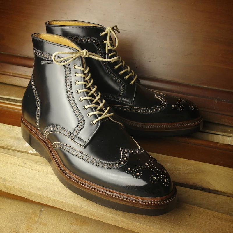 winson boots with norwegian welt