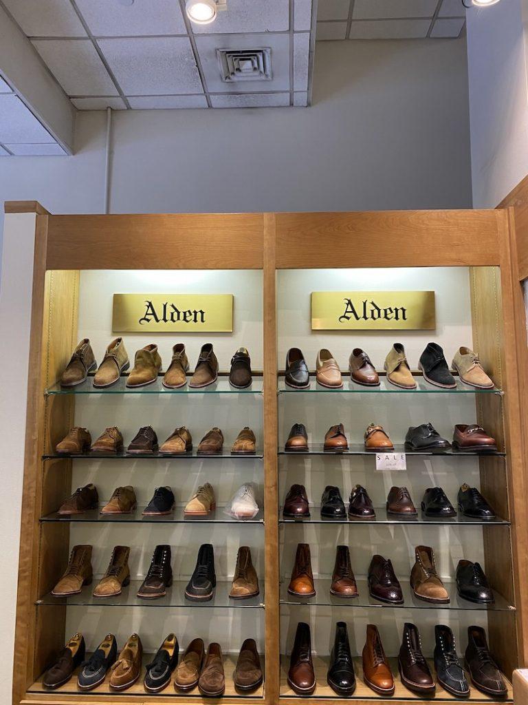 Alden NY Calf and Suede
