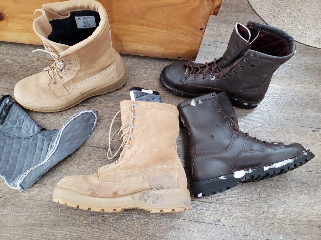 danner vs military boots