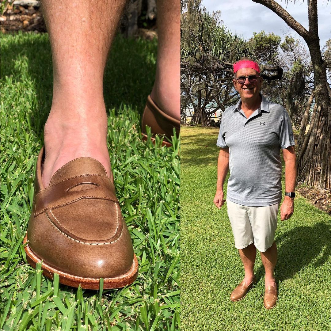 grant stone penny dune loafer
