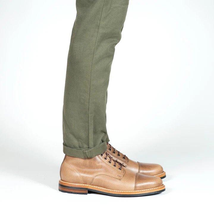 rancourt byron boot natural cxe side