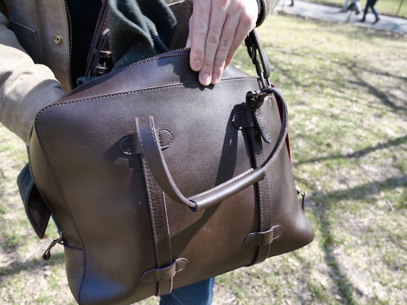 cravar leather briefcase